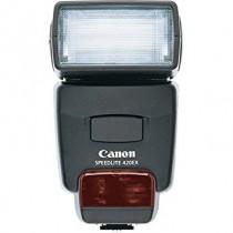 Canon 420 EX Speedlite with case. (Canon Film and Digital)