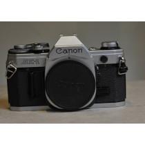 Canon AE1 Chrome body