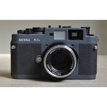 Voigtlander Bessa R2A grey with Nokton Classic 40mm f1.4