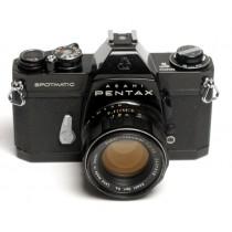 Pentax Spotmatic 11 black body with 55/f2 SMC