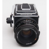 Hasselblad 500 C/M Classic 50th Anniversary (1941-1991) Camera with 80mm f2.8 CZ Planar Lens, WLF and A12 Back