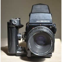 Bronica SQ Ai with 80mm/2.8 lens