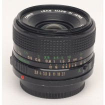 Canon FD 28mm/f2.8 lens