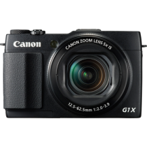 Canon G1X MKII 12.8MP Digital Camera with 5X Optical Zoom Lens