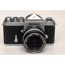 Nikon F  plain prism with 50/18