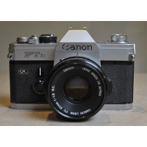 Canon Ftb with 50m f1.8 ssc lens
