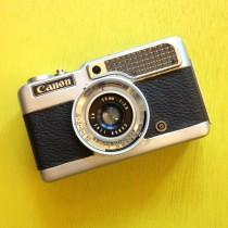 Canon Demi Half Frame  with 28/f2.8