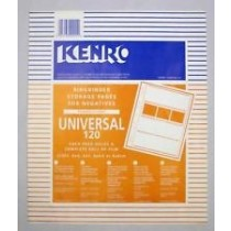 Kenro KNF10 Negative filing sheets for 120 film