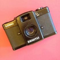 Lomo LC-A with 32/2.8 Minitar lens
