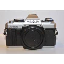 Minolta X500 Chrome body