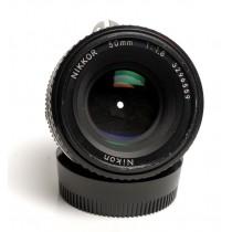 Nikon 50/f1.8 Nikkor Ais lens