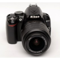 Nikon D3000 with 18-55/f3.5-5.6 DX VR lens