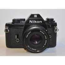 Nikon EM with 50/1.8 series E lens