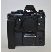 Nikon F3 HP Professional Film Camera Body.with MD4