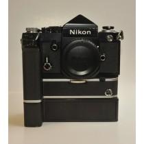 Nikon F2Body plain prism with MD2 winder