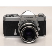 Nikkormat FTn with 50mm 1.8 Nikkor H