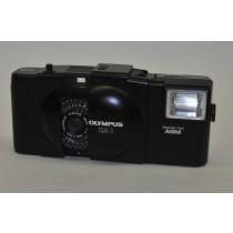 Olympus XA 1 and A9M Flash