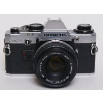 Olympus OM10 with Zuiko 50mm 1.8 lens
