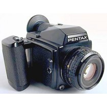 Pentax 645 with 75mm f2.8 L.S .Lens and 120 Insert and Caps