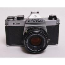 Pentax K1000 with 50/f1.7SMC Takumar.