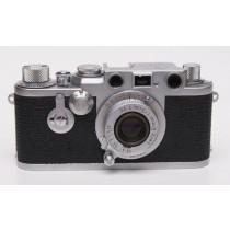 Leica 111F Red dial c/w Elmar 50/3.5