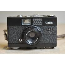 Rollei 35B Black with Triotar 40mm f3.5 lens