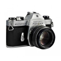 Pentax Spotmatic F with 55mm 1.8 lens