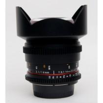 Walimex pro 14mm/T3.1 VDSLR lens