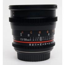Walimex Pro 50mm/T1.5 VDSLR Lens