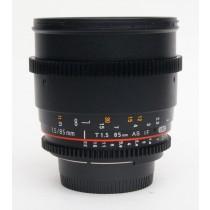 Walimex  Pro 85/T1.5 VDSLR lens
