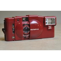 Olympus XA 3 red Ltd edition with A11 flash